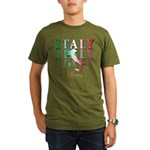 Italian pride Organic Men's T-Shirt (dark)