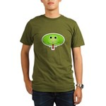 Snidely the Snake Organic Men's T-Shirt (dark)