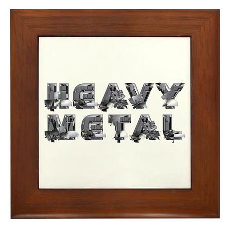 Heavy Met Framed Tile