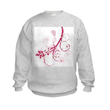 Swirls & Twirls Kids Sweatshirt