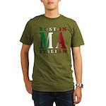 Boston Italian Organic Men's T-Shirt (dark)