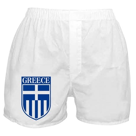 Crest of Greece Boxer Shorts