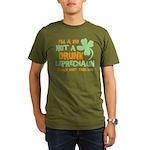 Kid Not Leprechaun Organic Men's T-Shirt (dark)