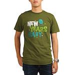 New Years Baby Organic Men's T-Shirt (dark)
