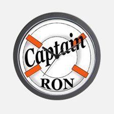 Captain Ron Wall Clock