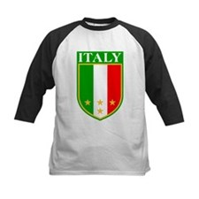 Italy Crest with Stars Tee