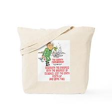 11th COMMANDMENT / MIL Tote Bag