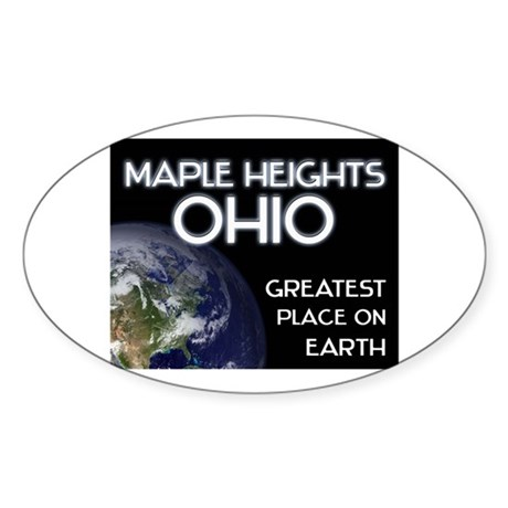 maple heights ohio - greatest place on earth Stick