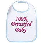 Breastfed Baby - Pink Bib
