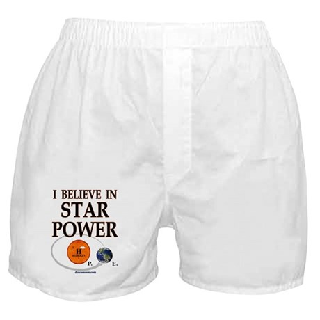 Star Power/Hydrogen Boxer Shorts