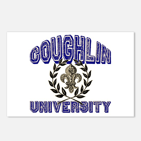 Coughlin Last Name University Postcards (Package o