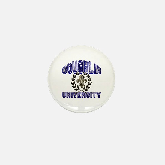 Coughlin Last Name University Mini Button