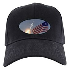 Apollo 11 Launch & Flag Baseball Hat