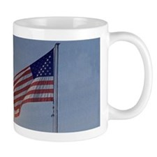 Apollo 11 Launch & Flag Mug