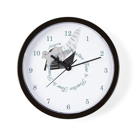 Angora Piano Goat Wall Clock
