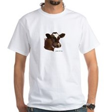 Red and white holstein calf Shirt
