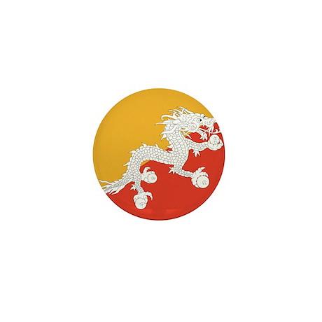 Flag of Bhutan Mini Button