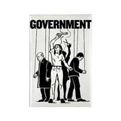 Government Marionette Rectangle Magnet (10 pack)