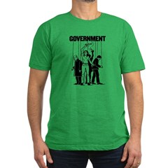 Government Marionette Men's Fitted T-Shirt (dark)
