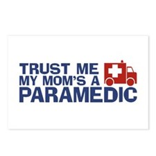 Trust Me My Mom's a Paramedic Postcards (Package o