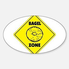 Bagel Zone Oval Decal