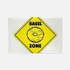Bagel Zone Rectangle Magnet