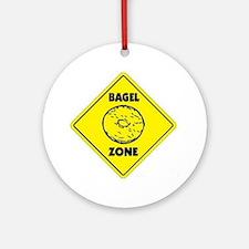 Bagel Zone Ornament (Round)