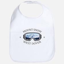 Mount Snow - West Dover - Vermont Baby Bib