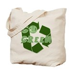Go Green Recycle Reusable Tote Bag