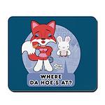 Foxy Foxy Mousepad