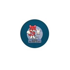 Foxy Foxy Mini Button