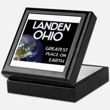 landen ohio - greatest place on earth Keepsake Box