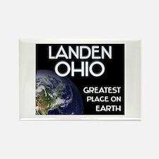 landen ohio - greatest place on earth Rectangle Ma