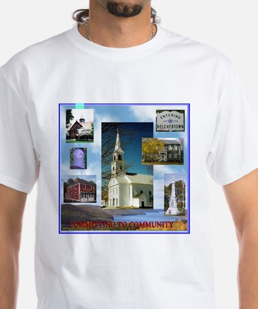 Belchertown UCC White T-Shirt