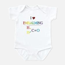 Embalming Infant Bodysuit