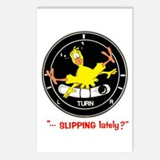 SLIPPING LATELY? Postcards (Package of 8)