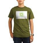 future egghead Penguin Organic Men's T-Shirt (dark