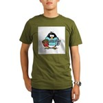 Movie Penguin Organic Men's T-Shirt (dark)