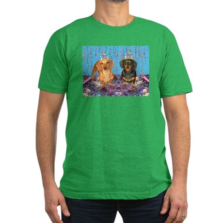 Happy Birthday Men's Fitted T-Shirt (dark)