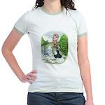Assorted Trio Pigeons Jr. Ringer T-Shirt
