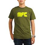 Monkey Fucking a Coconut 3 Organic Men's T-Shirt (