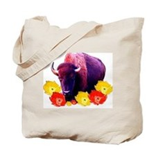 Buffalo Blooms Tote Bag