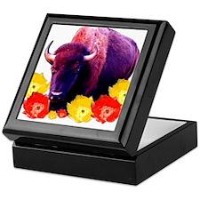Buffalo Blooms Keepsake Box