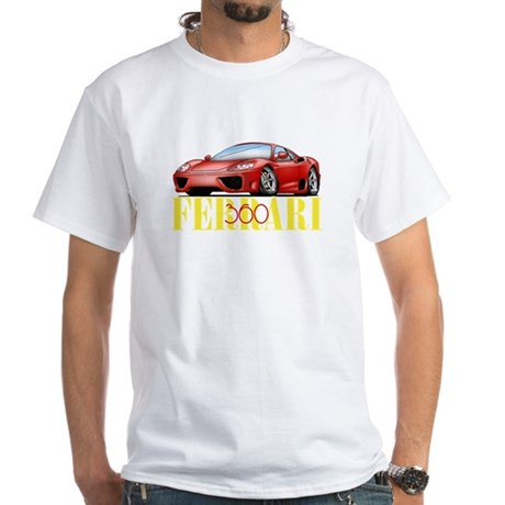 Ferrari 360 White T-Shirt