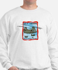 Military Helicopter Sweatshirt