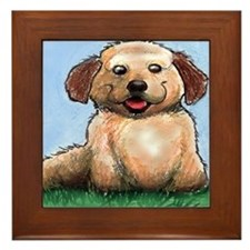 Cute Cuddley Framed Tile