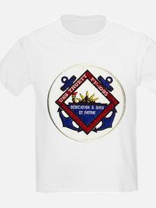 USS TRUETT Kids T-Shirt