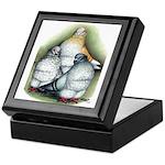 Chinese Owl Pigeons Keepsake Box
