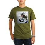 Chihuahua Trucker Organic Men's T-Shirt (dark)