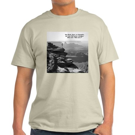 Who am I? haiku Light T-Shirt